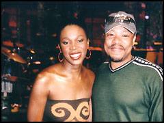 India.Arie. Beautiful woman inside and out. Her mother's a knock out